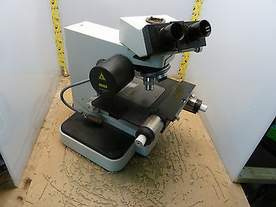 Leitz Orthoplan Trinocular Microscope W Laserstrahl 036-085.001 Y-6