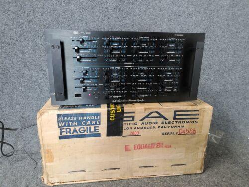 SAE 2800 Solid State Stereo Parametric Equalizer w/ original box