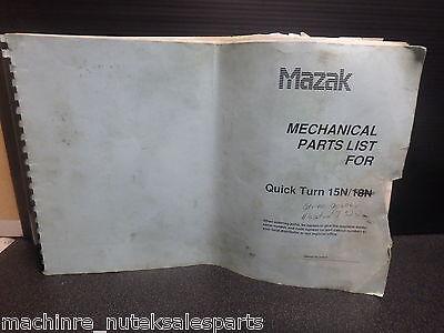 Mazak Quick Turn 15nmechanical Parts List341-le-06-e-000-ky1