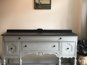 Antique buffet circa 1899 refinished