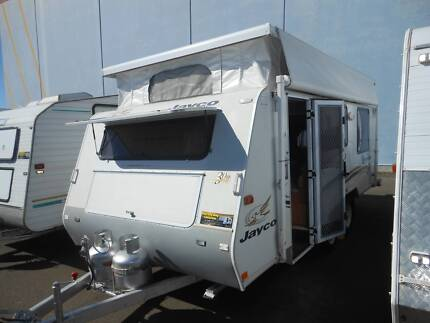 2005 Jayco Freedom 55.66-2 Island Bed; Tandem Pop Top SN1551 Pialba Fraser Coast Preview