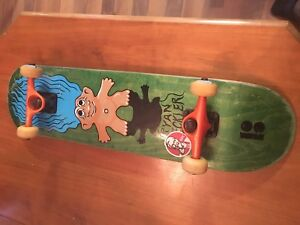 Plan b skateboard with tensor trucks