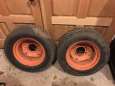 Kubota B5100 B6000 Tractor Rear Turf Tires