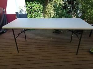 Large Plastic Trestle Table