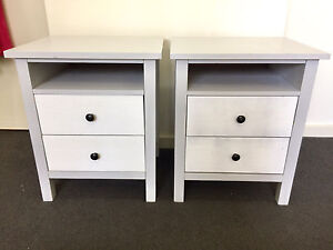 Bedside  Tables x 2 Matching Botany Botany Bay Area Preview