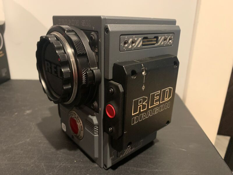 Red Scarlet Weapon DSMC2 Body w/ Red EF mount Great Condition!
