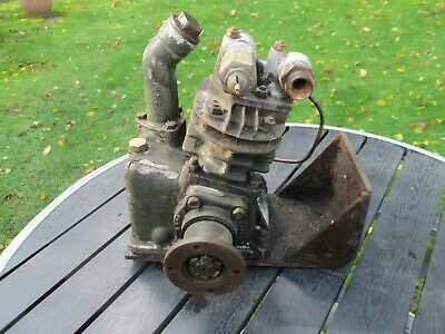 Bedford RL green goddess 300 petrol engine Brake compressor