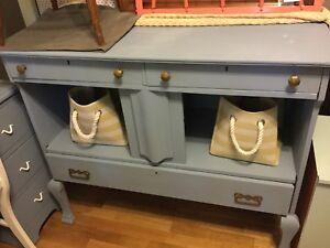 Jean blue entertainment cabinet