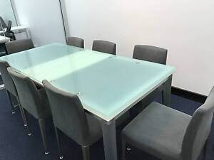 Near new dining room table & chairs Lane Cove Lane Cove Area Preview