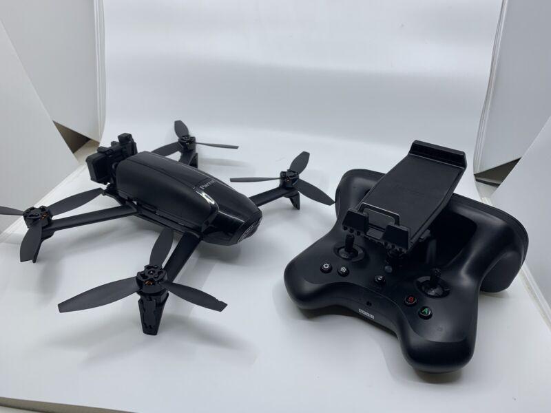 Parrot Bebop 2 FLIR Thermal Drone (Dual Cameras) + 4 batteries Commercial App