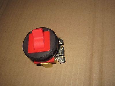 Schlegel Toggle Switch 300v On Off Emergency Safety Button 380