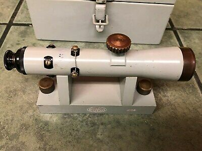Level Brunson High Accuracy Machinist Level Telescope