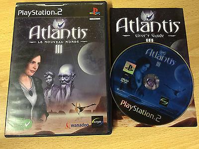 PS2 : ATLANTIS 3 le nouveau monde
