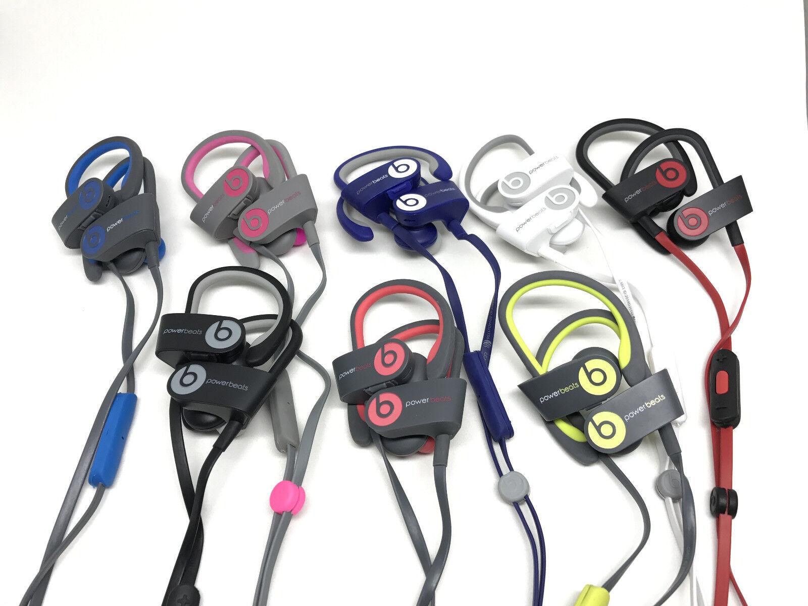 Beats By Dre - Beats By Dr. Dre PowerBeats 2 Wireless Earphones Headphones In-Ear ur Beats Dr