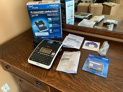 Brother P-touch Pt-2730 Label Maker Thermal Printer - W Extras
