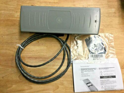 Sensormatic ZBSMPSPE SlimPad Pro EAS Label Deactivator Pad