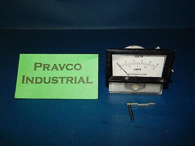 Hoyt 0-10volts 0-2amps Panel Meter