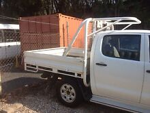 2010 dual cab hilux tray Arundel Gold Coast City Preview