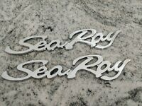 Brand New OEM Searay Sea Ray Emblem Badge Logo Set 4pcs w//immediate free S/&H