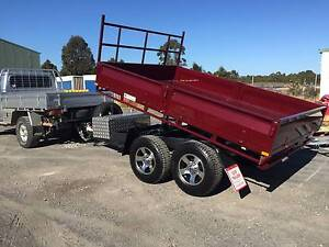 """10 x 6'6"""" tipping trailer, hydraulic tipper, tipper trailer, South Nowra Nowra-Bomaderry Preview"""