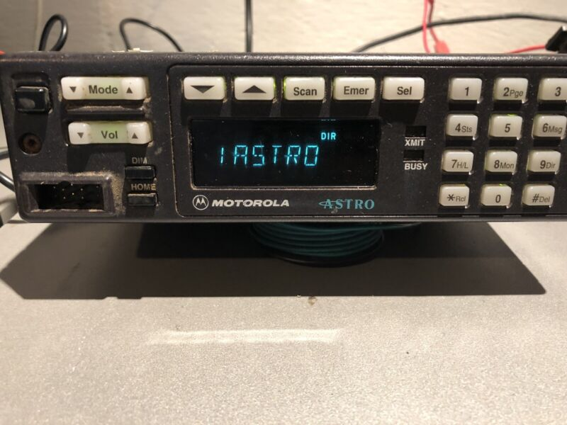 Motorola Astro Spectra A7 VHF 146-174 MHz Ham, High-Power, Tuned/Tested, Narrow