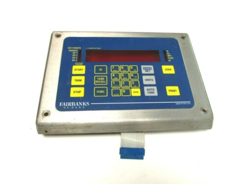 Fairbanks Scales Stainless Steel Face Plate  .. WD-11A