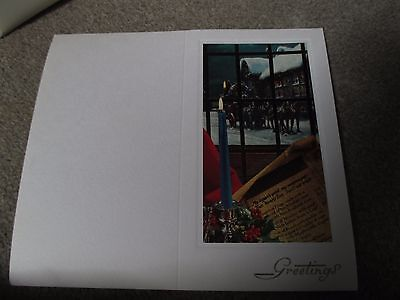 54 Genuine Vintage-  letterpress printers Christmas card blanks. Coaching Inn