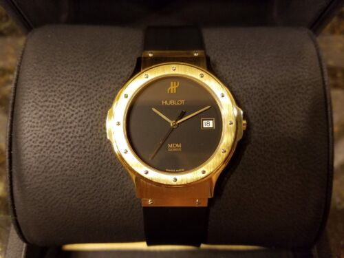 Hublot MDM Geneve Classic Midsize Watch Solid 18K Gold 1521.3 big bang fusion - watch picture 1