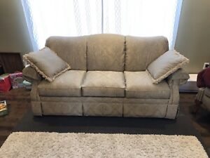La-z-boy couch and love seat and ottoman