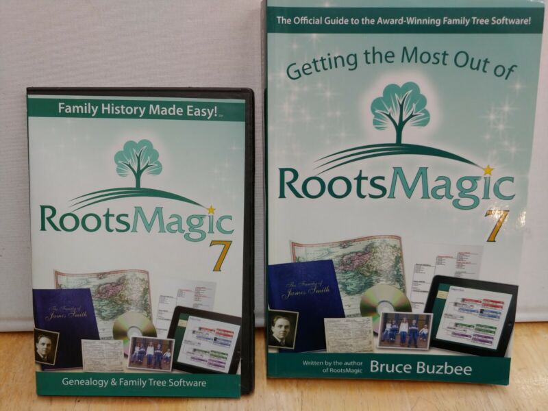Roots Magic 7 software + Book Getting the Most Out of Roots Magic 7