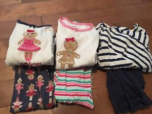Size 6 girls Jammies and outfit Gymboree