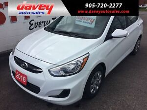 2016 Hyundai Accent GL HEATED SEATS, BLUETOOTH, CD PLAYER