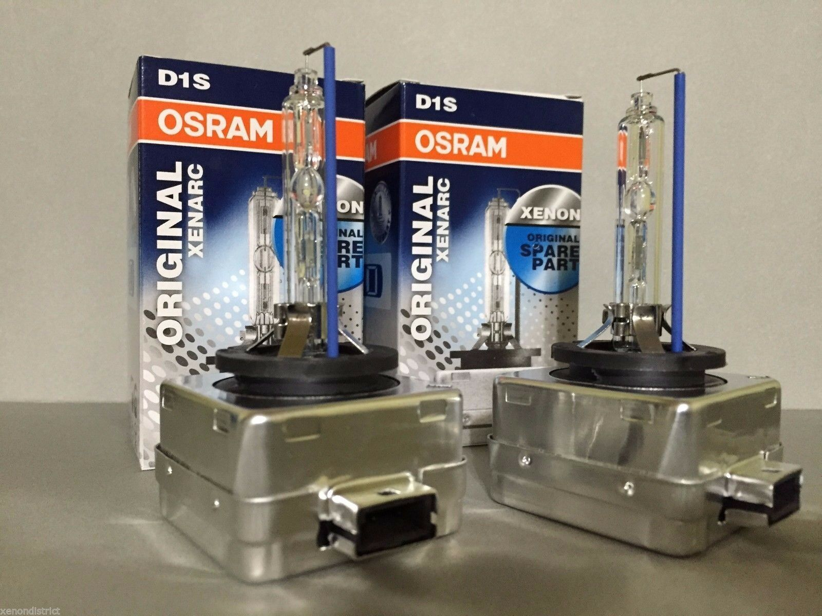2x new oem 2pcs osram xenarc d1s 66144 original 6000k hid. Black Bedroom Furniture Sets. Home Design Ideas