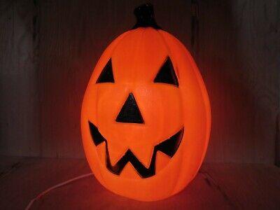 "Vintage Empire Halloween Pumpkin Blow Mold Jackolantern 27"" x 15-1/2"""