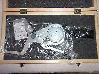 Shars 303-3128 Outside Dial Caliper - 3.2-4 - Grad. .0005 - New In Wood Box