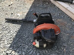 Echo back pack gas powered leaf blower