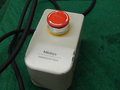 Mitutoyo Cmm Emergency Stop Box Pn 960712