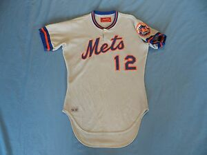 1981 New York Mets game used jersey