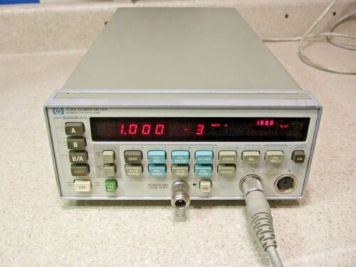 #1525 HP 438A Dual Channel Power Meter - Refurbished! Tested! In Cal!