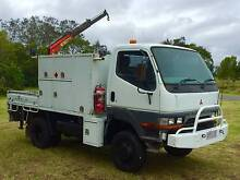 1997 Mistubishi FG 4x4 Cab Chassis Truck Stapylton Gold Coast North Preview