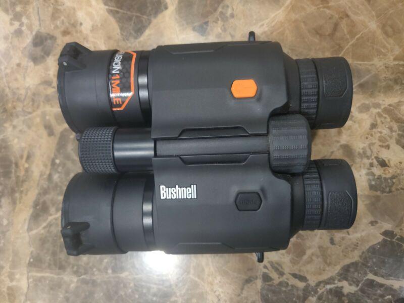 Bushnell Rangefinder Binocular All-in-1: Fusion 1-Mile ARC hunting 10x42