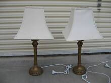 Pair of white and gold table lamps Adelaide CBD Adelaide City Preview
