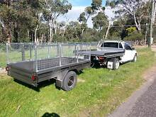 Driver ute and 8x5 caged trailer,7x4 tipper available for hire, Midland Swan Area Preview