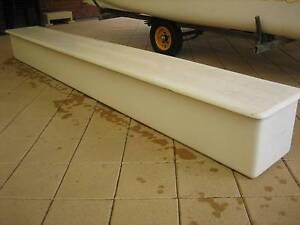Stow away Sail Box for catamaran trailer, fibreglass Woodcroft Morphett Vale Area Preview