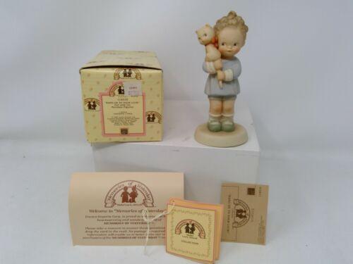 Enesco Memories of Yesterday Figurine - Hang on To Your Luck - 114510