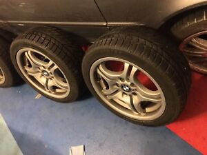 BMW STYLE 68 M RIMS & WINTER TIRES