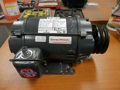 Emerson 5 Hp Electric Ac Motor 208-230460v 3 Phase 184t Frame 1760 Rpm