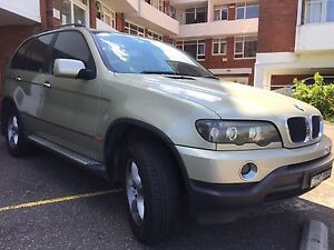 BMW X5 2002 Neutral Bay North Sydney Area Preview