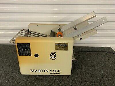 Martin Yale Cv7 Paper Folder