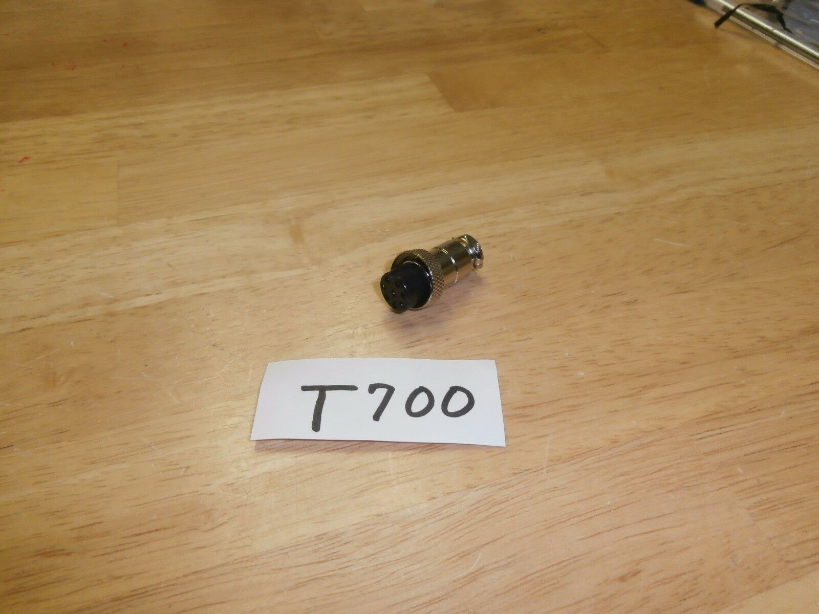Philmore T700 Female 8 Pin In-Line Mobile/Mic Connector,NOS
